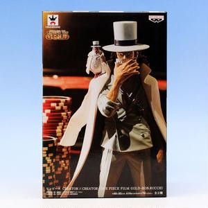 ロブ・ルッチ ノーマルカラー 白色ver.  (ワンピース CREATOR×CREATOR ONE PIECE FILM GOLD ROB.RUCCHI ルッチ  プライズ バンプレスト)