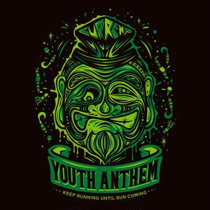 Youth Anthem×CURRENTコラボT(BLACK×GREEN)