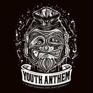 Youth Anthem×CURRENTコラボT(BLACK×WHITE)