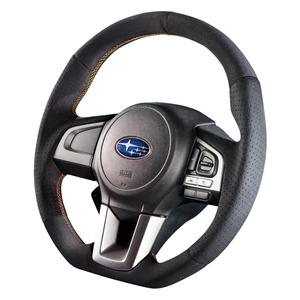 "DAMD Sports Steering Wheel for SUBARU ""SS362-RX"" Suede Type"