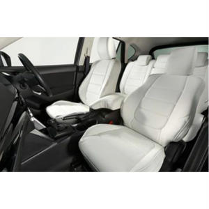 "Premium Fit Sheet Cover for MAZDA CX-5 (KE系/後期) ""White × White Stitch"""