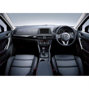"Premium Fit Sheet Cover for MAZDA CX-5 (KE系/前期) ""Black × Red Stitch"""