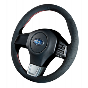"DAMD Sports Steering Wheel for SUBARU ""SS360-RS"" Ultra Suede."