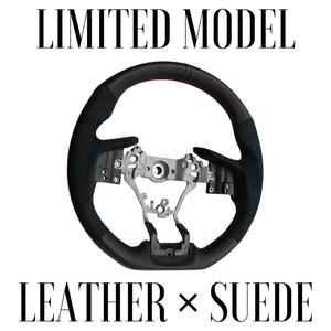 """【限定品】DAMD SPORTS STEERING WHEEL """"SS362-RX Nappa Leather × Ultra Suede"""""""