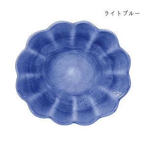 MATEUS マテュース オイスターボウル(楕円深皿) ライトブルー