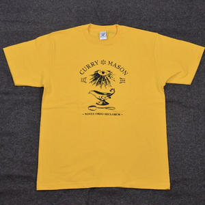 CURRY MASON CLASSIC LOGO S/S /YELLOW