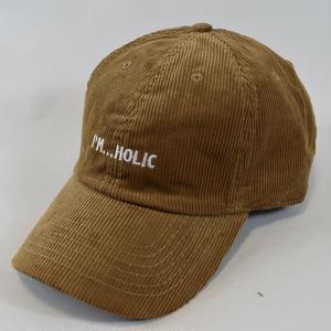 I'M...HOLIC CORDUROY CAP/TAN