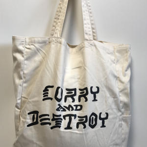 CURRYANDDESTROY  CANVAS TOTE