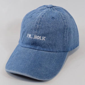 I'M...HOLIC DENIM CAP/LIGHT BLUE