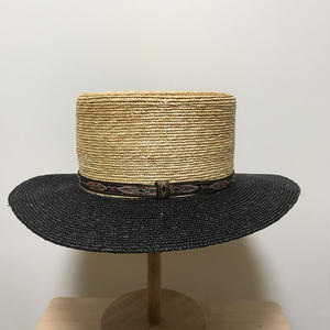 detourlife CANCAN HAT  NATURAL/BLACK