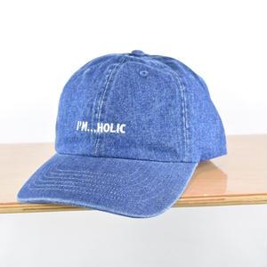 I'M...HOLIC DENIM CAP/BLUE
