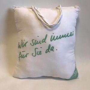 SHOP TOTE CUSHION A