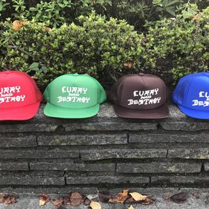 CURRYMASON/CURRYANDDESTROY MESH CAP