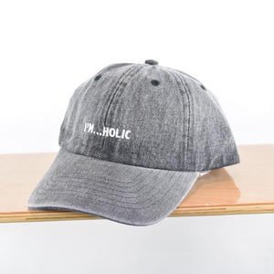 I'M...HOLIC DENIM CAP/BLACK