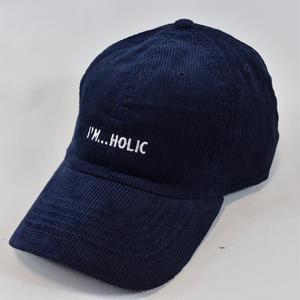 I'M...HOLIC CORDUROY CAP/NAVY
