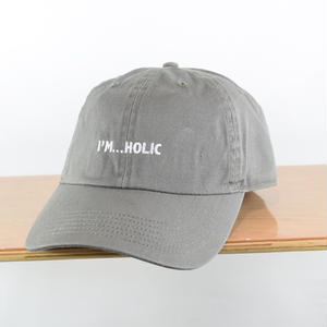 I'M...HOLIC COTTON CAP/GREY