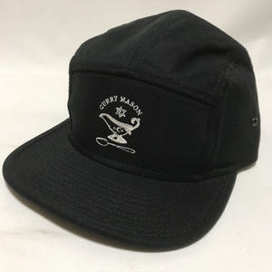 CURRY MASON LOGO JET CAP  BLACK