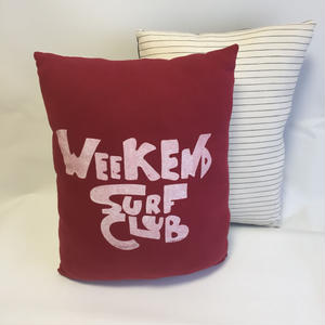 CALTURE SEMILONG CUSHION/WEEKEND SURF CLUB