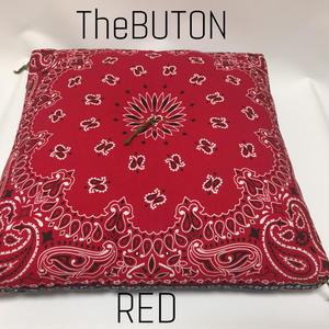 TheBUTON BANDANA RED