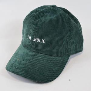 I'M...HOLIC CORDUROY CAP/GREEN