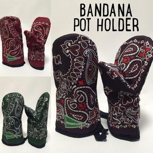 BANDANA POT HOLDER