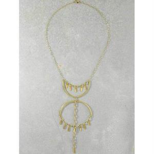 ネックレス ペンダントレディース K14 コート THE CANNES GOLD NECKLACE アメリカン ブランド Vanessa Mooney ヴァネッサムーニー
