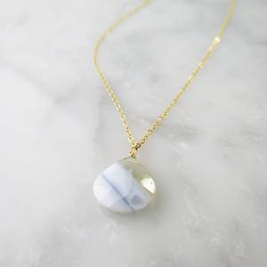 Ice Calsilica Necklace【14kgf】