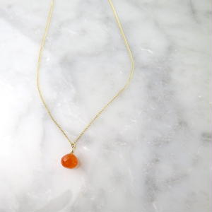 Carnelian Necklace【14kgf】
