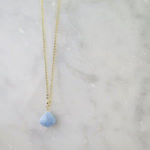 Blue Opal Necklace【14kgf】