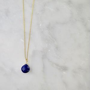 Lapis lazuli Necklace【14kgf】