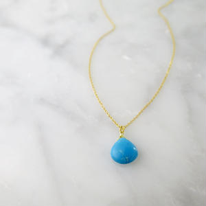 Turquoise Necklace【14kgf】