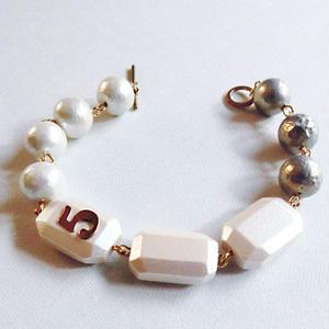 wood 「5&7」bracelet