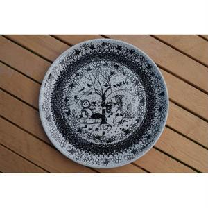 【北欧ヴィンテージ】【ニモール】【ビョルン・ヴィンブラッド】【アウトレット】四季絵皿 Lサイズ
