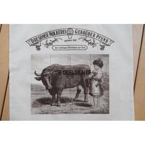 【ドイツ】世界一美しい牛乳屋さん(Dresdner Molkerei Gebrüder Pfund)