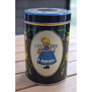 【北欧ヴィンテージ雑貨】【イヤマ】イヤマちゃん レトロブリキ缶 大