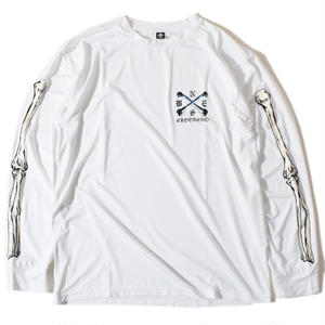Sleeve Bone Long T(White)