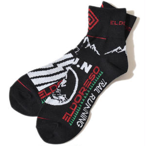 Mountain Run Sox(Black)