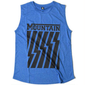 Mountain Sleeveless T(Blue)