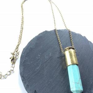turquoise necklace(unisex⚤)