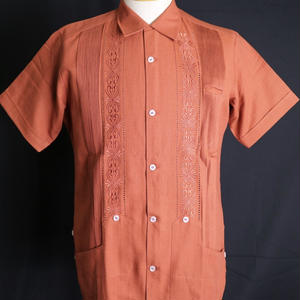 "[ESG01SOR] S/S ORANGE ""ORIGINAL GUAYABERA"""