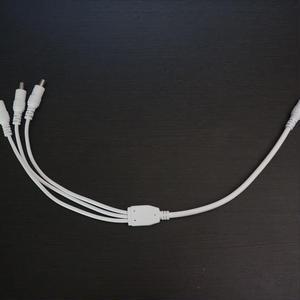LiLi用分岐ケーブル(3台まで連結可能)