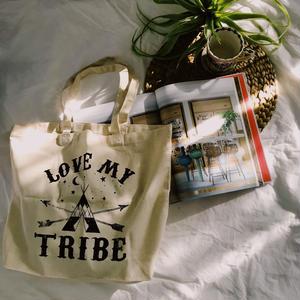 Logo Natural Tote Bag