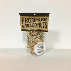 FROM FARM /GRILLED NUTS(ミックスナッツ)-MAPLE SYRUP&HASSAKU ORANGE(メイプルシロップ&はっさく)180g