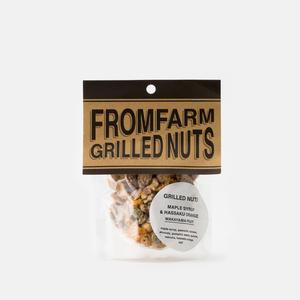 FROM FARM/GRILLED NUTS - MAPLE SYRUP & HASSAKU ORANGE(メイプルシロップ&はっさく)90g