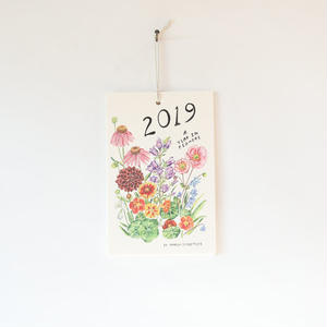 "Maria Schoettler/2019 ""Year in Flower""  Calendar"