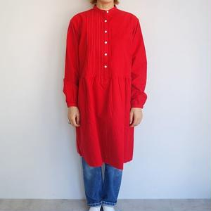 Needles Women Pin Tuck Dress - Cotton Flannel