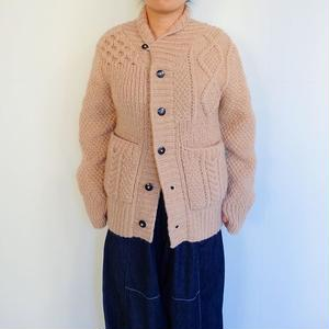 Slow Hands vegetable dye crazy shawl cardigan