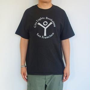 "City Lights Book Store Basic S/S Tee ""LOGO"""
