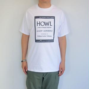 "City Lights Book Store Basic S/S Tee ""HOWL"""