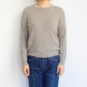 FACTORY ヤク クルーネックセーター